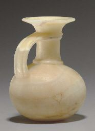 View AN EGYPTIAN ALABASTER JUG , NEW KINGDOM, DYNASTY XVIII-XX, 1550-1070 B.C. on Christies.com, as well as other lots from the Antiquities