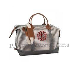 30 Best Monogrammed Weekender Tote Bags