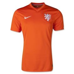 Netherlands 2014 Authentic Home Soccer Jersey - The Official FIFA Online Store