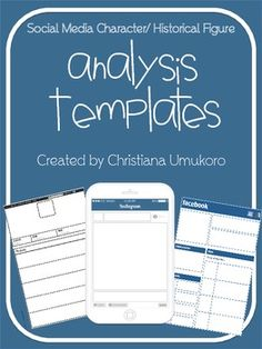 Instagram, Facebook and Twitter Templates!