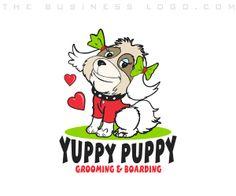 Logo Design Services, Custom Logo Design, Company Logo Samples, Puppy Grooming, Business Logo Design, Animal Logo, Pet Care, Vector Art, Cartoon