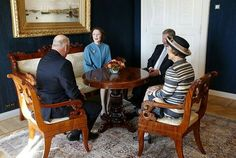 King Harald and Queen Sonja of Norway is currently making a 3 days official visit to Finland. On the first day of the visit, King Harald and Queen Sonja met with Finland's President Sauli Niinistö and his wife Jenni Haukio in Helsinki on September 6, 2016. King Harald and Queen Sonja, Finland's President Sauli Niinistö and his wife Jenni Haukio in Helsinki