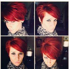 Mooi rood is niet lelijk! Pittige rode korte kapsels voor zelfstandige vrouwen - Kapsels voor haar