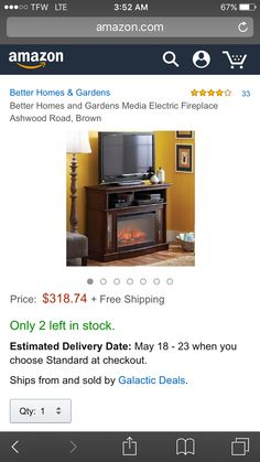6653ff095d4310c6d095525b9c0fcb7d  th birthday - Better Homes And Gardens Ashwood Road Media Fireplace