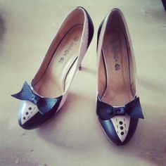 Tuxedo shoes! For black tie dress code and not only! Haha!