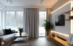 Mieszkanie - Gdynia Wielki Kack - Mały salon, styl skandynawski - zdjęcie od Autors.KA