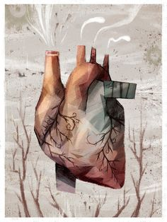 Heart 15 by Jonathan Calsolaro