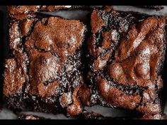 Best Fudgy Cocoa Brownies - YouTube