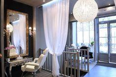 french boudoir salon design - Google Search