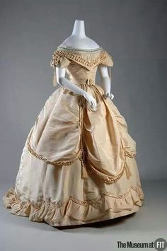 1865 ball gown   Pinned by Naoma Peterson