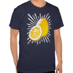 Get #refreshed with this #half-tone #pattern, #comic style tee! #fashion #lemon