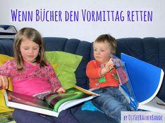 Entspannter Vormittag allein mit drei Räubern? - Bücher helfen immer - Ostseeraeuberbande Familienblog