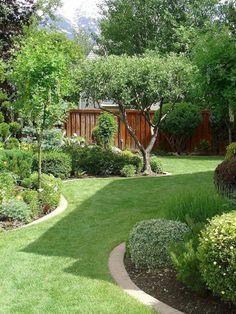 Beaty Small Backyard Landscape Designs for Your Backyard … - Garden Design DIY Small Backyard Gardens, Small Backyard Landscaping, Small Gardens, Backyard Ideas, Small Backyards, Backyard Designs, Backyard Ponds, Backyard Privacy, Fence Ideas