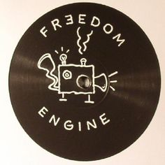 The artwork for the vinyl release of: Mathew Jonson - The Decompression Remixes (Freedom Engine) #music Techno