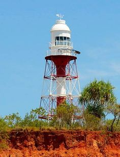 Point Charles lighthouse [1893 - Cox Peninsula, Northern Territory, Australia]