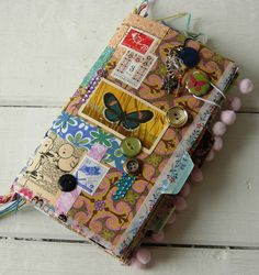 Decoupaged Tag Journal | Flickr - Photo Sharing!