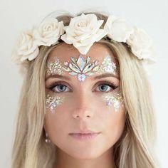 Fairy Makeup, Makeup Art, Fairy Costume Makeup, Makeup Ideas, Fairy Costumes, Makeup Brush, Engel Make-up, Festival Makeup Glitter, Glitter Party