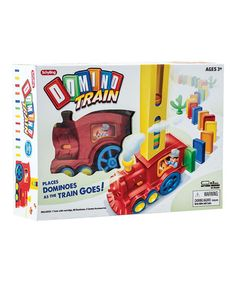 Schylling Domino Train Set. Includes train, cartridge, 80 dominoes and two cacti $15.99