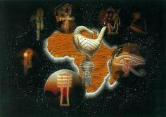 """Africa's Spiritual Memories"" by Jabbi Delahaye"