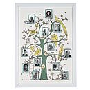 Family Tree Photograph Frame Print