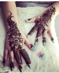 21 Beautiful Mehndi Design Images For Every Occasion! Stylish Mehndi Designs, Beautiful Mehndi Design, Latest Mehndi Designs, Mehndi Designs For Hands, Henna Tattoo Designs, Boho Beautiful, Tattoo Ideas, Henna Tattoo Hand, Hand Mehndi