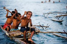 Silver Discoverer destination: Madang, Papua New Guinea.