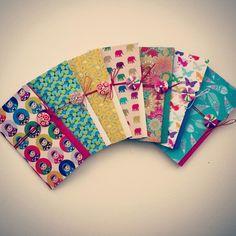 Handmade notebooks for craft sale