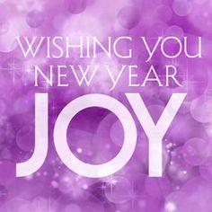 purple new years