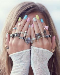 Rings! Wouldn't wear them all at the same time obv. But i want them all!