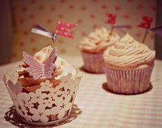 Nubes de Cupcakes: 6 Cupcakes de vainilla para principiantes