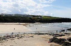 Porth Beach, Newquay, Cornwall.