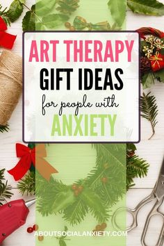 Art therapy is helpful for people who have trouble expressing themselves due to anxiety, as it gives them a creative outlet in a non-threatening context. Here are some art therapy gift ideas for your anxious friends. art therapy activities | #arttherapyprojects #arttherapyprompts #arttherapygifts #creativegiftideas