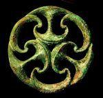 Irish bronze. The Celtic & Prehistoric Museum, Ireland