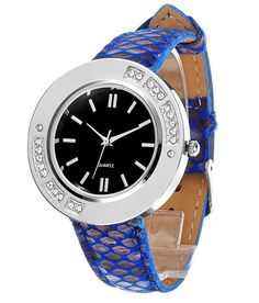 Loved it: Tropez Round Dial Crystal Studded Leather Strap Watch, http://www.snapdeal.com/product/tropez-round-dial-crystal-studded/1556105475