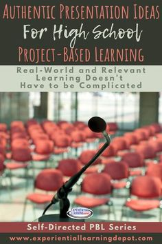 Authentic presentations are an important piece of project-based learning. They make learning relevant, meaningful, and deepen the learning experience. But sometimes this part of PBL can be a challenge. We think it's complicated, but it doesn't have to be. Check out some authentic presentation ideas right here. #projectbasedlearning Social Studies Lesson Plans, Math Lesson Plans, Teacher Blogs, Teacher Resources, School Projects, School Ideas, Education Director, English Lesson Plans, The Learning Experience