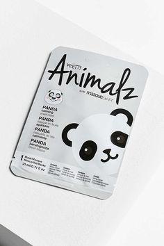 Slide View: Look Beauty Pretty Animalz Sheet Mask Nelumbo Nucifera, Green Tea Extract, Water Flowers, Sheet Mask, Key Ingredient, Treat Yourself, How To Apply, Skin Care, Chill Pill