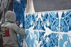 Diogo Machado | Add Fuel | STREET & ART | Mural - Confiança