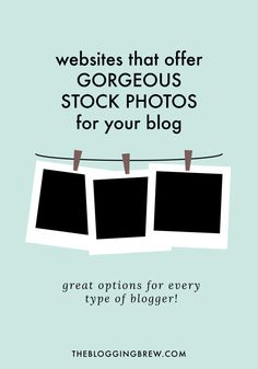 If taking pictures isn't your thing (I know what you mean!), stock photos are the next best thing. From nature photos to tech mockups, there are tons of options to choose from!