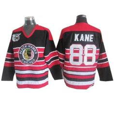 Patrick Kane Jersey - Buy 100% official CCM Patrick Kane Men s Premier 75TH  Red Black Jersey Throwback NHL Chicago Blackhawks  88 Free Shipping. afa472c30