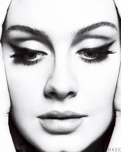Adele photographed by Mert & Marcus for Vogue, March 2012.