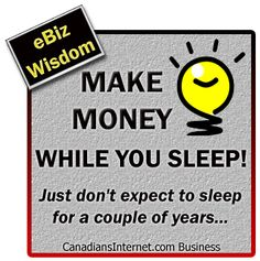 Monday Motivation: Make Money While You Sleep (With Digi-poster)