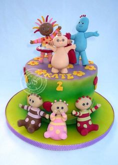 In the Night Garden cake - Cake by chefsam