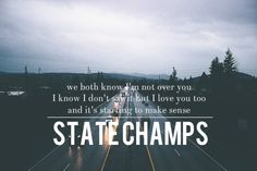State Champs Lyrics, Music Lyrics, Music Music, Gonna Be Alright, Pop Punk, Save My Life, Song Quotes, Music Love, Music Bands