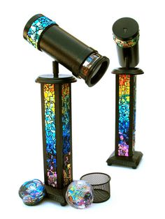 Kaleidoscope Art Dichroic Sculpture Rainbow by judithpaulscopes, $1500.00