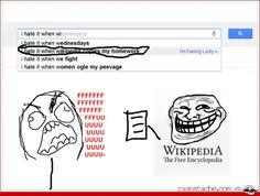 Stupid Wikipedia... - - Rage Comics - Ragestache