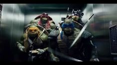 Teenage Mutant Ninja Turtles 2014 - The Elevator Scene Probably the best/most hilarious scene in the movie! Ninja Turtles 2014, Teenage Mutant Ninja Turtles, New Movies, Good Movies, Bae, Tmnt 2012, Film, Movie Quotes, Tv Shows
