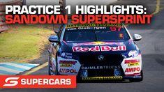 Practice 1 Highlights - Penrite Oil Sandown SuperSprint | Supercars 2021 V8 Supercars, Touring, Super Cars, Highlights, Oil, Luminizer, Hair Highlights, Highlight