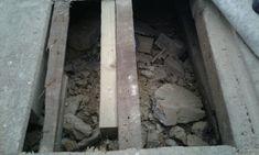 Builders rubble dumped under timber floor...cowboys! Timber Flooring, Cowboys, Homes, Shape, Wood, Wood Flooring, Houses, Woodwind Instrument, Wood Floor