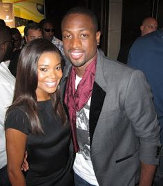 "Gabrielle Union and Dwyane Wade during the launch of the new ""305"" Timepiece Collection by Hublot."