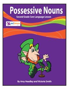 Our 2nd Grade Possessive Nouns Lesson is aligned with the 2nd Grade Common Core Reading, Writing, and Language Standards (CC.2.RI.1, CC.2.RI.4, CC.2.W.2, CC.2.L.2c).     We've included a full color Possessive Nouns Poster that's ready to print, laminate, and hang in your classroom, a color copy of the lesson for your White Board, black and white versions of the lesson and activities to make copies for your students, answer pages, and a grading rubric for the higher level practice.